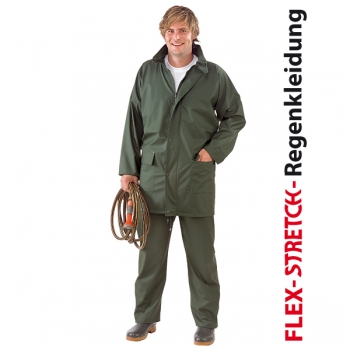 """Flex-Stretch"" Regenbundhose oliv"