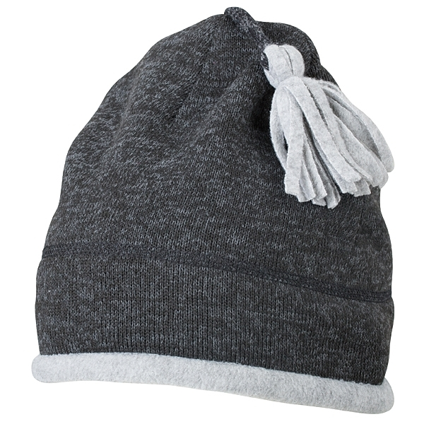 Knitted Fleece Beanie